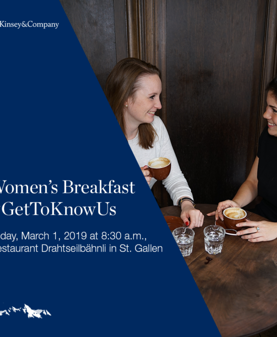 Corporate Event – McKinsey Women's Breakfast